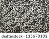 Close-up Chain for texture , - stock photo