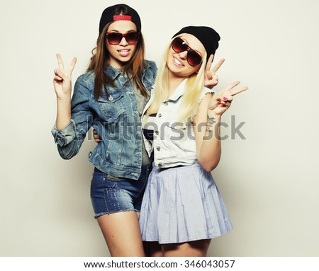Human people wearing teen outfits