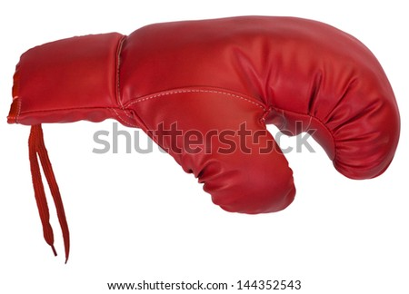 Close-up of a boxing glove
