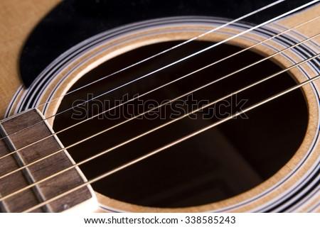 guitar string vibrating stock photo 26798 shutterstock. Black Bedroom Furniture Sets. Home Design Ideas