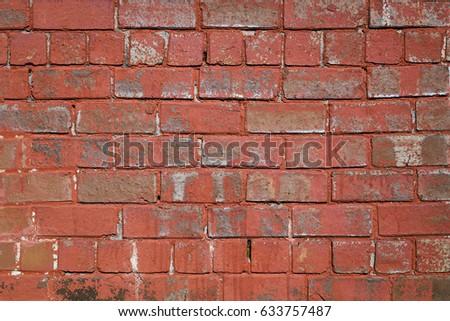 Brick wall ventilation grilles stock photo 739815 shutterstock - Exterior paint peeling concept ...