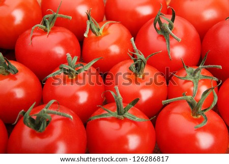 Close-up of cherry tomatoes