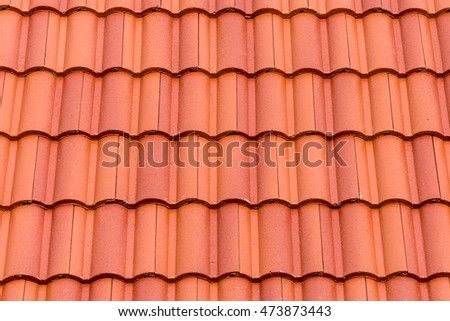Close Red Roof Texture Stock Photo 103316663 Shutterstock
