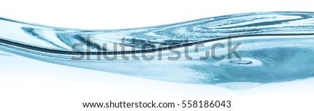 close-up of water wave against white background