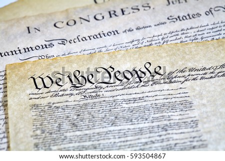 the constitution versus the declaration of The similarities between the us constitution and the declaration of independence declaration of independence, united states constitution.