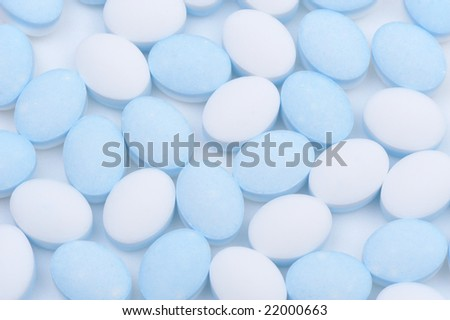 close up shot of pills