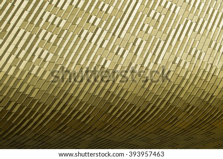 Close up steel pattern with lighting shade