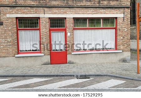 Closed shop in industrial town