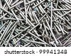 Closes of up nails - stock photo