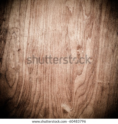closeup of dark wood in square composition