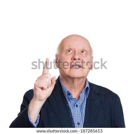 Closeup Portrait Dumb Clueless Senior Mature Stock Photo 188182988 ...