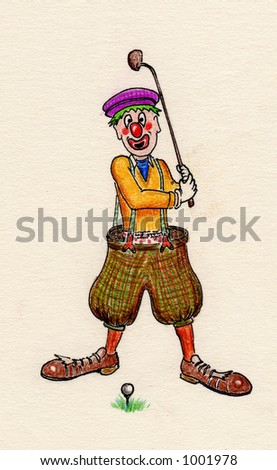 Clown comedy sketch antics cartoon laugh laughter circus