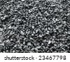 coal piled up - stock photo