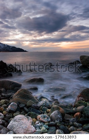 Coast of the Norwegian Sea