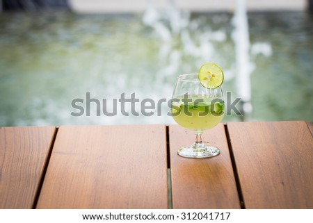 cocktail Mojito drink
