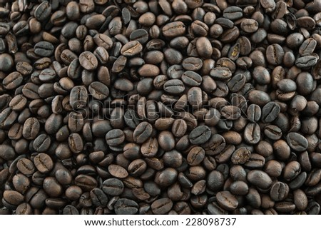 coffee beans backgrround