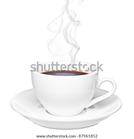 Steam coffee cup - d4