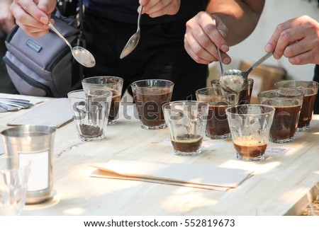 Coffee Maker Qualifications : Barista Brewing Drip Coffee Stock Photo 428505169 - Shutterstock