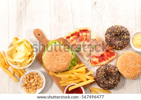 junk food composition Usda food composition databases  nutrition information for raw fruits, vegetables and fish dhhs fda center for food safety and applied nutrition.