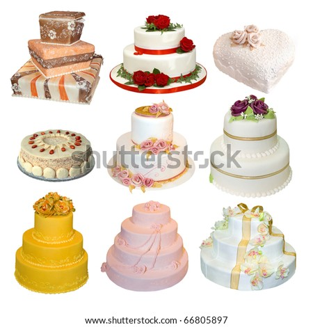 elegant wedding cake beige flowers isolated stock photo 118048969 shutterstock. Black Bedroom Furniture Sets. Home Design Ideas