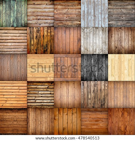 collection wood texture. background old panels