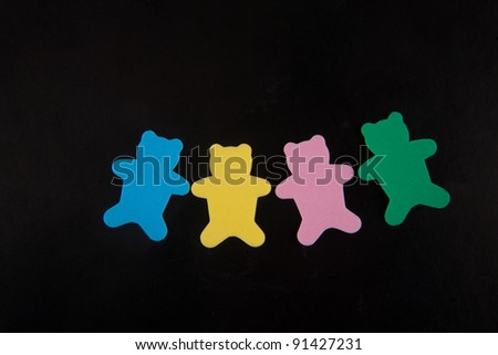 color bears,small color craft