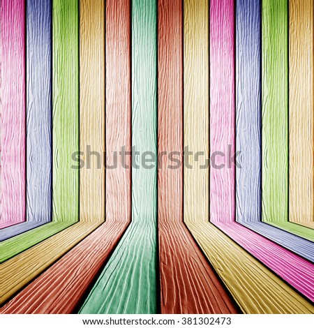 Color wood plank wall texture background
