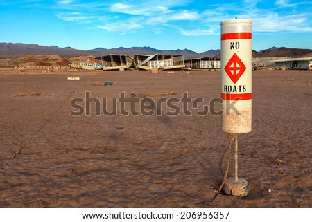 Colorado River and Lake Mead National Recreation Area Drought Water Level