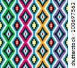 Colored ethnic texture - stock photo
