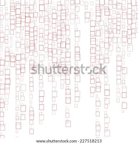 Colored rectangles on white background