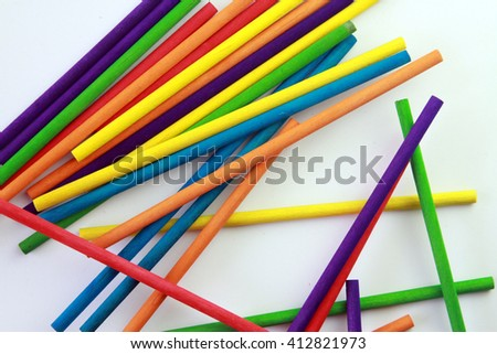 colored stick
