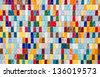 Colored Tiles - Textured Background - stock photo