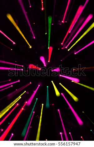 Colorful abstract lines background