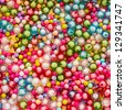 colorful bead background - stock photo