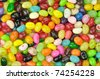 colorful candies , close up shot for background - stock photo