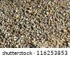 Colorful different colors gravel background, rock pieces texture - stock photo