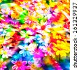 colorful flower. - stock photo