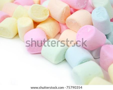 Colorful Marshmallow Stock Photo