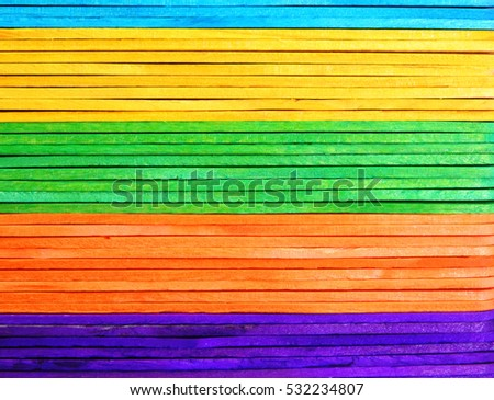 Colorful of wood background.