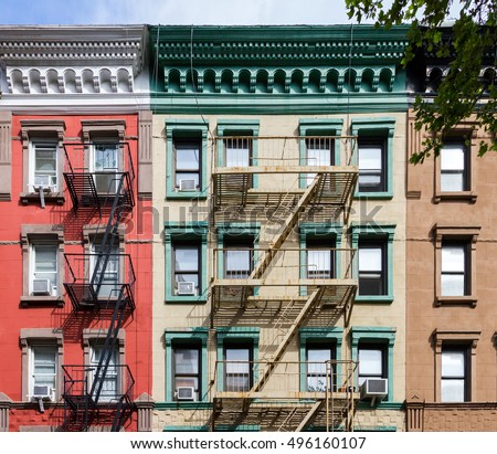 Buildings on gay street manhattan new stock photo for Nyc greenwich village apartments