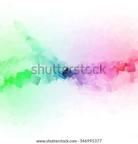 colorful squares - modern abstract background