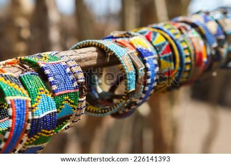African Handcraft Made By Maasaitribe Tanzania Stock Photo 192326612 Shutterstock