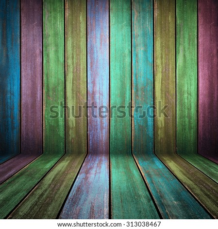 Colorful washed wood texture. background old panels in high detailed photo