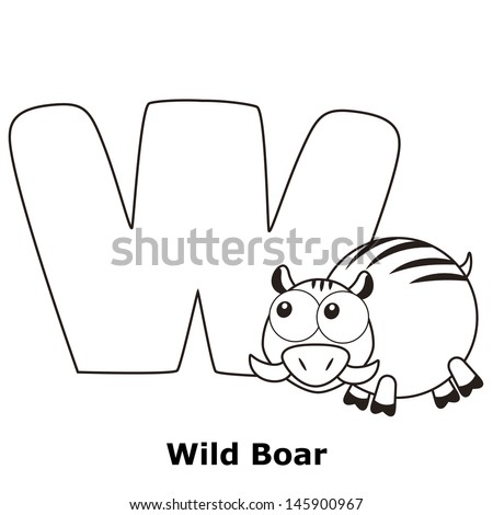 Minnesota Wild Logo Coloring Page Boar Wild Boar Also Wild Pig