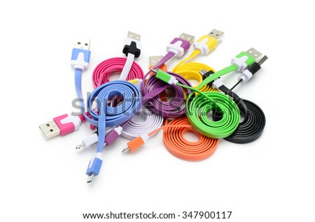 colors micro usb cable