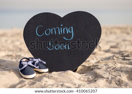 Coming Soon Baby Boy Announcement Photo 282531905 Shutterstock – Coming Soon Baby Announcements