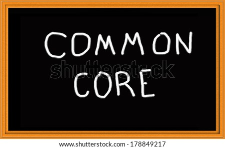 Common Core Chalkboard