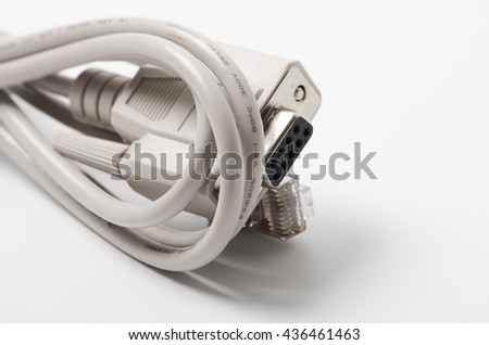 Comms cable RJ45