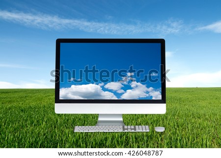 Computer cloud and meadow