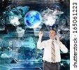 Computers programming E-business.Internet - stock photo